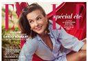 Carole Bouquet et ses bijoux boulonnais en couverture de Elle