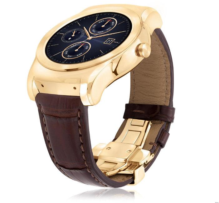 LG Watch Urbane Luxe en or 23 carats