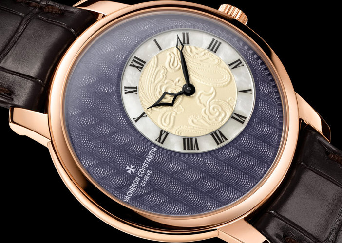 Constantin Vacheron - Collection Métiers d'Art Elégance Sartoriale - Herringbone