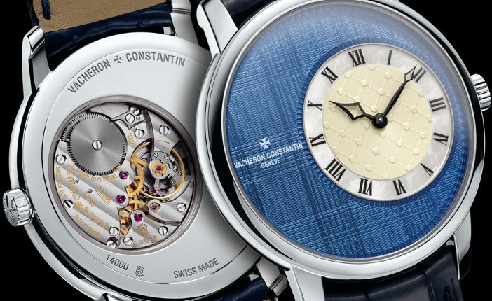 Constantin Vacheron - Collection Métiers d'Art Elégance Sartoriale - Tartan