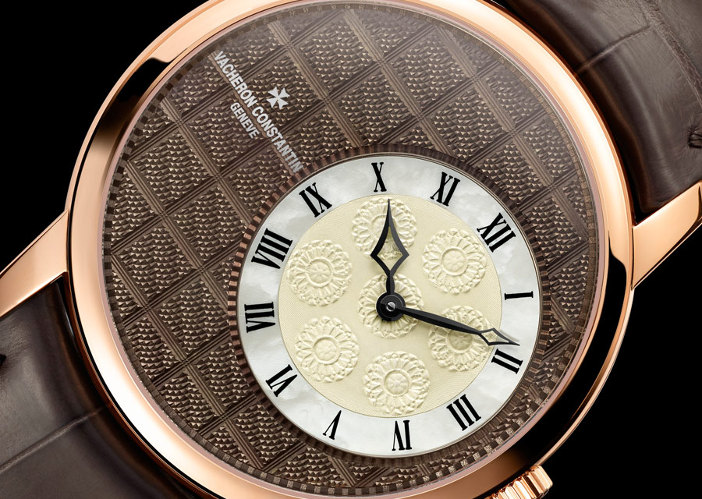 Constantin Vacheron - Métiers d'Art Elégance Sartoriale collection - Windowpane