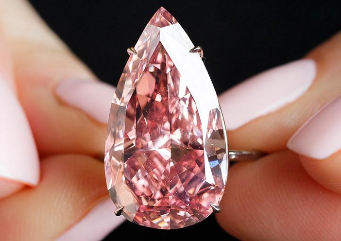 Unique Pink - Diamant rose